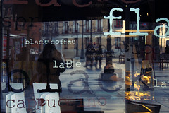 Stop and see yourself there... (Edna Bojrquez) Tags: coffee caf reflejo selfie