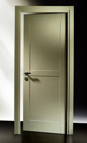 Porta Pantografata 41C RAL7044