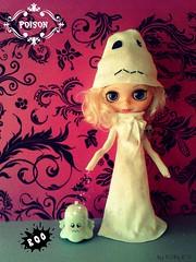Conjunto Boo, para Chus ☺ (Ö DOLLS) Tags: doll handmade dal ag pullip blythe poison angelgate baasak döbles ödollslahabitacióndelossueños colecciónhalloween conjuntofantasma conjuntoboo