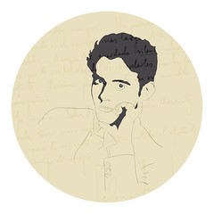 Lorca (alpgiraykelem) Tags: illustration turkey war poetry spanish civil granada poet writer garcia lorca izmir alpgiray kelem