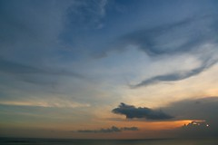 Sunset Glow (brianfarrell) Tags: ocean sea bali indonesia relax march surf peace lot wave serene relaxed tranquil tanahlot tanah 2013
