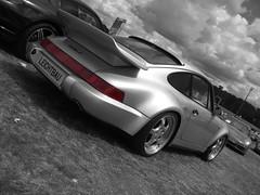 Porsche 911 964 Turbo S Leichtbau @ Le Mans Classic 2008 (Stijn Braes) Tags: classic 911 s turbo mans le porsche 964 leichtbau