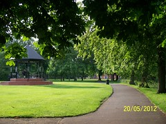 Nuneaton, Riversley Park (ZacharyKent) Tags: park england museum geotagged town interesting europe unitedkingdom bandstand warwickshire 2012 nuneaton greenarea thebiggestgroup wikimapia interestingplace kodakeasysharez1285zoom