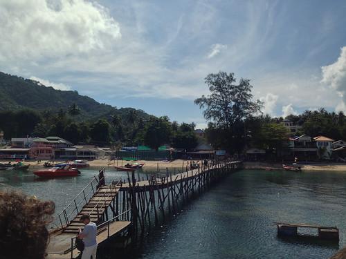 Koh Tao Ferry Dock