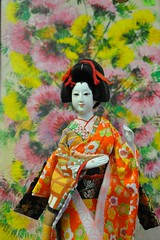 A Japanese Doll from the Other Side -:- 330 (buddhadog) Tags: japanese doll geisha