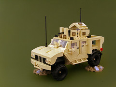 Oshkosh M-ATV (Legohaulic) Tags: lego military vehicle commission oshkosh matv