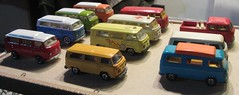 IMG_6351 (our78bus) Tags: bus vw volkswagen toy paint do die cast mandarin re majorette camper matchbox transporter siku lesney baywindow