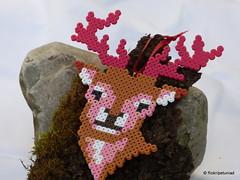 Hirsch Bgelperlen (petuniad) Tags: perler prlplattor hamabeads strijkkralen alpinechic huettenzauber buegelperlen