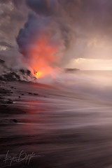 Vicious (Ryan Dyar) Tags: sunrise kalapana hawaii lava hilo feelings ryandyar ryandyarphotography