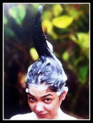 b (zon_267) Tags: hair long shampoo washing