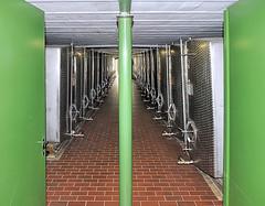 the high-proof room (claude05) Tags: tank symmetry distillery staufen schladerer finefruitbrandies nomirroring