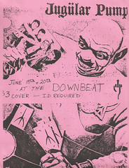 Jugular Pump at the Downbeat 6-19