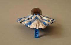 Plo Koons Jedi Starfighter (2) (Kit Bricksto) Tags: scale star lego jedi wars minifig clone koon moc starfighter plo delta7 aethersprite