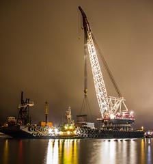 Weeks 533 (jasopeterso) Tags: crane capecod tugboat tug hyannis weeksmarine weeks533