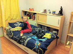 Harrison in his new bedroom (bryanpage) Tags: children bed bedroom harrison harrisonhendrixpage harrisonpage
