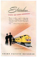 Union Pacific Railroad Streamliner Advertising National Geographic June 1949 (SenseiAlan) Tags: railroad june advertising pacific union national geographic 1949 streamliner