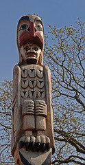 Totem pole, Spirit square (joybidge (back from vacation)) Tags: totempole totempoles victoriabc naturepatternscanada trishcanada tsapril202013
