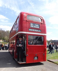 Original Routemaster (PD3.) Tags: park buses museum vintage 40th spring coach anniversary transport royal surrey gathering trust april cobham routemaster 40 annual preserved 80 lt stagecoach preservation psv pcv brooklands 2760 aec smk wisely rml lt80 rml2760 smk760f lbpt londonbusmuseum 760f 2013london