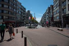 To fly the flags at half mast (Lucien Schilling) Tags: france belgium solidarity knokke be vlaanderen knokkeheist
