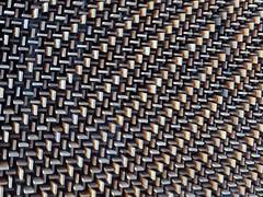 Batavia, IL, Fermi National Accelerator Laboratory, Wilson Hall Auditorium Lobby, Ceiling Abstract (Mary Warren (7.1+ Million Views)) Tags: wood abstract texture lines pattern walnut fermilab diagonals bataviail ferminationalacceleratorlaboratory
