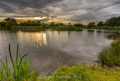 Willows Pond - Wingate (Steven Peachey) Tags: pond landscape sky clouds wingate ef1740mmf4l leefilters canon6d stevenpeachey lightroom5 countydurham lee09gnd