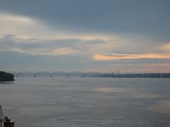 .  (Grigory Gusev) Tags: perm russia    kama bridge sunset
