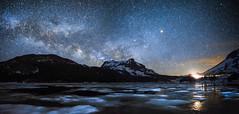 Headlights (Night Scapes) Tags: steverengers milkyway nightsky tiogalake yosemite california