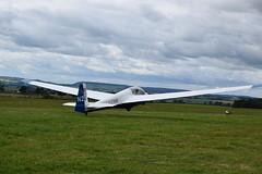 Schleicher ASK13 Winch Launch (mme1998) Tags: glider sailplane pngc portsmouthnavalglidingclub leeonsolent airfield daedalus airplane nikon d3300 dslr hampshire aviation k13glider n28 gcfsd