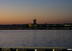 Former Beacon in the Twilight (andrewtijou) Tags: andrewtijou nikond7200 europe spain river rio riocarreras water port puntadelmoral costadelaluz es
