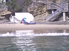 Crescent Cove, Sept. 2 (EllenJo) Tags: snapsights ss1000 digitalcamera waterproofcamera chadphotos lagunabeach ca crescentcove september2 2016