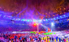Olympics 2016 438 (Visualstica) Tags: olympicgames olympics juegosolmpicos brazil brasil rodejaneiro ro rio2016 ceremoniadeclausura closingceremony clausura