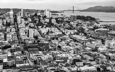 San Francisco (mhoffman1) Tags: aurorahdr cowhollow fishermanswharf goldengatebridge hdr marinheadlands northbeach rx100iv rx100m4 russianhill sanfrancisco sanfranciscobay architecture bay blackandwhite city monochrome urban