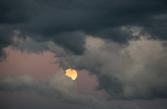 'Devil Moon on the Rise' (Part I) (Canadapt) Tags: moon clouds full rise moonrise keefer canadapt