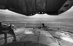 05 (rtw1r) Tags: rtwlr urbanexploration urbex  russia abandoned ruins decay carousel abandonedcarousel childrens camp darkness darkplace dark analogphotography filmphotography film 35mm blackandwhite bw tasma d76 longexposure