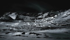 Moonlight on the Tundra (JLS Photography - Alaska) Tags: alaska alaskalandscape wilderness winter winterlandscape mountains mountain tundra jlsphotographyalaska moonlight fullmoon snow outdoor