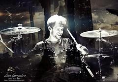 LGA (dragica_basaric) Tags: dv dvicio xxiv luis gonzalvo lg luisgonzalvo andres ceballos ac music drum drummer sing singer voice voz db dragica basaric edit design dark darkness