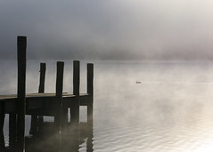 Misty water (Peter Henry Photography) Tags: mist morning sulight lake water still calm quiet