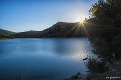 ...acque interne... (rovampera) Tags: lago acqua sibillini fiastra colori natura sole montagna