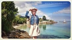 Fin de semana en Aldn (Sandra) Tags: barbie ooak pivotal hybrid repaint blonde ash freckled aldan escapada findesemana cangas omorrazo