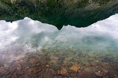 Reflet (GLVF) Tags: lacsdevens mercantour alpesmaritimes france lac reflection relfets light lake mountain alpes sky stones pure water eau nationalpark parcnational tine hautetine