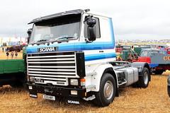 Scania 112M Truck E33 HRT Great Dorset Steam Fair 2016 (davidseall) Tags: scania e33 hrt e33hrt 112m series truck lorry haulage tractor unit lgv hgv large heavy goods vehicle great dorset steam fair 2016