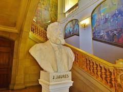 2016-08-07 - Toulouse - Jean Jaurs - Escalier d'honneur - Capitole (P.K. - Paris) Tags: statue buste