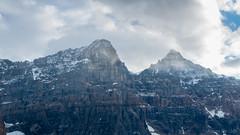 DSC_0036 (Adrian De Lisle) Tags: lakemoraine banffnationalpark banff mountains clouds