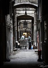 2016-08-12_Venedig - Venice - gritty version_IMG_8150 (dieter_weinelt) Tags: bluesky brcken dieter fiona gondeln kanal kanle melanie morgenstimmung sommer2016 sonnenschein tauben touristen venedig venice victoria blauerhimmel boats boote bridges canals doves empty erarlymorning fastleer gondolas morgens nearlyempty notourists onlyworkers summer2016 sunshine tourists