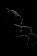 NOUNOURS (jmichel2002) Tags: clair obscur noir et blanc nounours peluche ombre