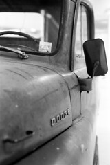 Dodge PickUp - Classic Cars (Analog World Thru My Lenses) Tags: nikonfa nikkor50mmf18d rolleirpx100 autonostalgia may 2016