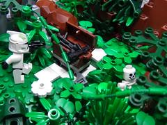 Jungle Ruin #2 (Ωmεga) Tags: brick for star monkey republic lego halo battle galaxy figure warriors wars custom build clone masterchief minifigure brickarms