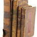 157A. Four 19th Century Leatherbound Books