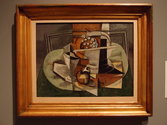 Le Tapis Vert, 1929, Georges Braque (Eric Broder Van Dyke) Tags: art apple glass sign set painting gris star spring oahu space pipe pablo bowl icon picasso future grapes georges synthetic merge cubist 1929 avantgarde braque cubism 2013 georgesbraque cubismus letapisvert