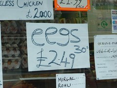 Eegs (Richard and Gill) Tags: london sign shop notice eggs spellingmistake typo e17 walthamstow grammar walthamforest forestroad eegs